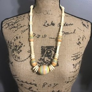 Jewelry - Beautiful unique colorful bead necklace